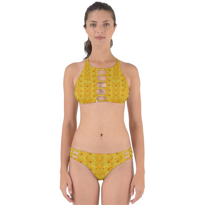 Blossoms  So Free In Freedom Perfectly Cut Out Bikini Set