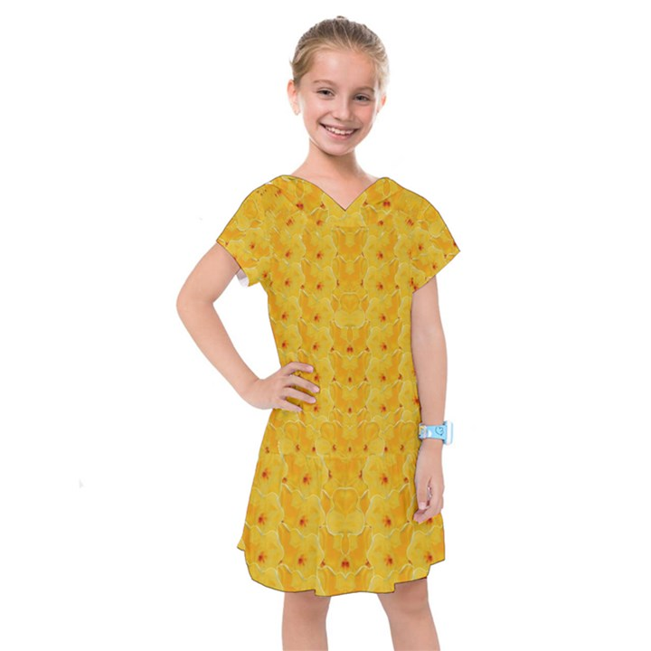 Blossoms  So Free In Freedom Kids  Drop Waist Dress