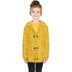 Blossoms  So Free In Freedom Kids  Double Breasted Button Coat
