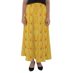 Blossoms  So Free In Freedom Flared Maxi Skirt