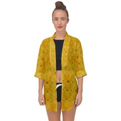 Blossoms  So Free In Freedom Open Front Chiffon Kimono by pepitasart