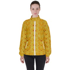 Blossoms  So Free In Freedom Women s High Neck Windbreaker