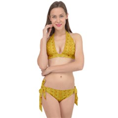 Blossoms  So Free In Freedom Tie It Up Bikini Set