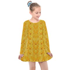 Blossoms  So Free In Freedom Kids  Long Sleeve Dress