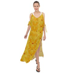 Blossoms  So Free In Freedom Maxi Chiffon Cover Up Dress