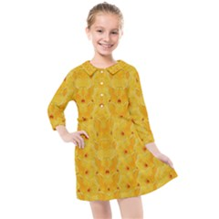 Blossoms  So Free In Freedom Kids  Quarter Sleeve Shirt Dress