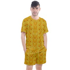 Blossoms  So Free In Freedom Men s Mesh Tee and Shorts Set