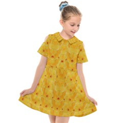 Blossoms  So Free In Freedom Kids  Short Sleeve Shirt Dress