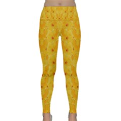 Blossoms  So Free In Freedom Lightweight Velour Classic Yoga Leggings