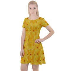 Blossoms  So Free In Freedom Cap Sleeve Velour Dress