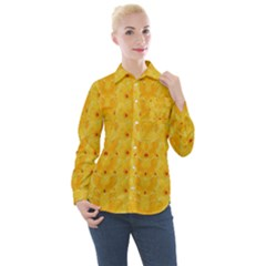 Blossoms  So Free In Freedom Women s Long Sleeve Pocket Shirt
