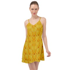 Blossoms  So Free In Freedom Summer Time Chiffon Dress