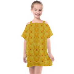 Blossoms  So Free In Freedom Kids  One Piece Chiffon Dress