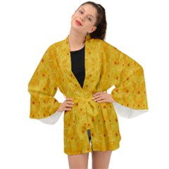 Blossoms  So Free In Freedom Long Sleeve Kimono