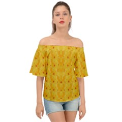Blossoms  So Free In Freedom Off Shoulder Short Sleeve Top