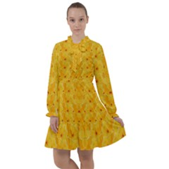 Blossoms  So Free In Freedom All Frills Chiffon Dress