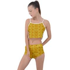 Blossoms  So Free In Freedom Summer Cropped Co-Ord Set