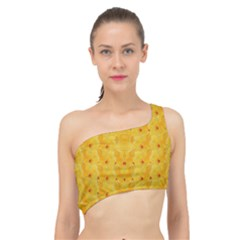 Blossoms  So Free In Freedom Spliced Up Bikini Top