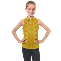 Blossoms  So Free In Freedom Kids  Sleeveless Polo Tee