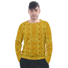 Blossoms  So Free In Freedom Men s Long Sleeve Raglan Tee