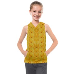 Blossoms  So Free In Freedom Kids  Sleeveless Hoodie