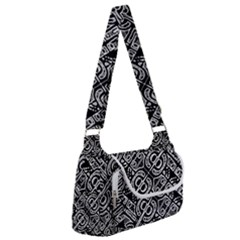 Linear Black And White Ethnic Print Multipack Bag by dflcprintsclothing