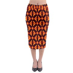 Rby-189 Midi Pencil Skirt