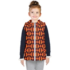Rby-189 Kids  Hooded Puffer Vest