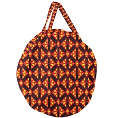 Rby-189 Giant Round Zipper Tote