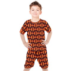 Rby-189 Kids  Tee and Shorts Set