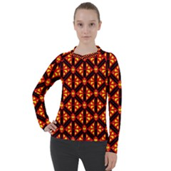 Rby-189 Women s Pique Long Sleeve Tee
