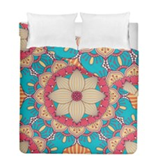 Mandala Duvet Cover Double Side (full/ Double Size)