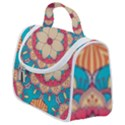 Mandala Satchel Handbag View1
