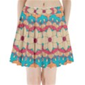 Mandala Pleated Mini Skirt View1