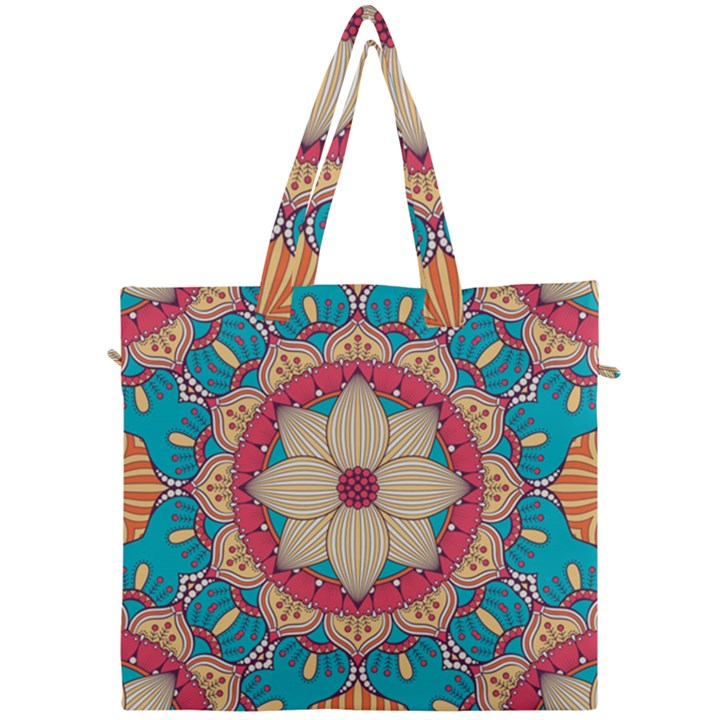Mandala Canvas Travel Bag