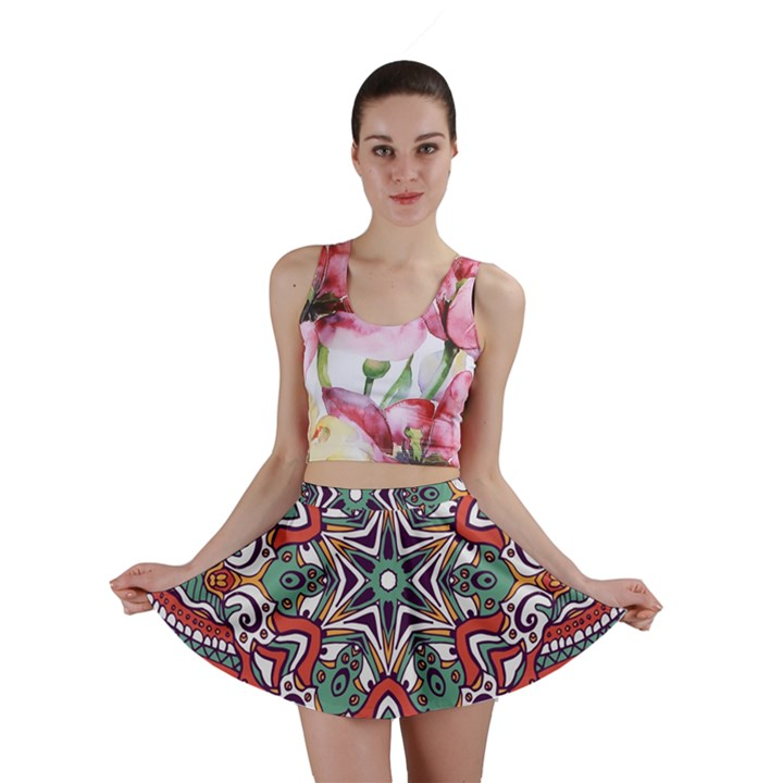 Mandala Mini Skirt