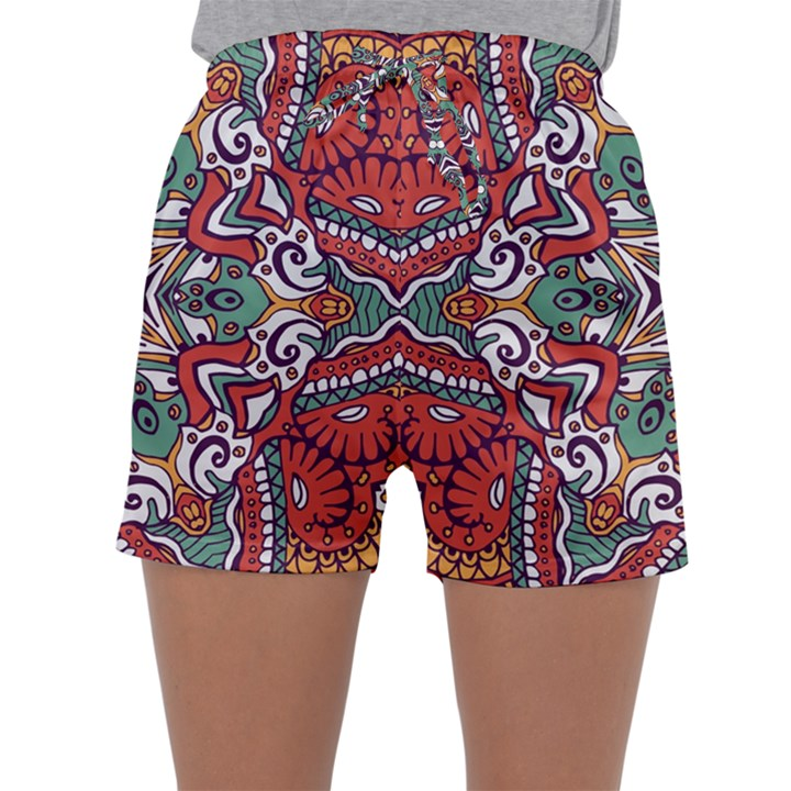 Mandala Sleepwear Shorts