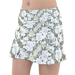 Modern Abstract Intricate Print Pattern Tennis Skorts by dflcprintsclothing