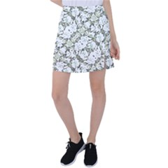 Modern Abstract Intricate Print Pattern Tennis Skirt by dflcprintsclothing