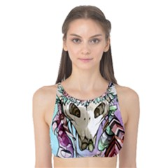 Animal Skull Tank Bikini Top