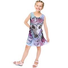 Animal Skull Kids  Tunic Dress