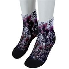 Saucer Magnolia Tree Ii Men s Low Cut Socks
