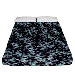 Intricate Modern Abstract Ornate Pattern Fitted Sheet (california King Size) by dflcprintsclothing