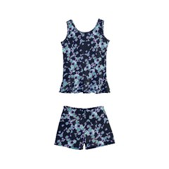 Intricate Modern Abstract Ornate Pattern Kids  Boyleg Swimsuit by dflcprintsclothing