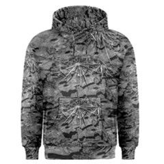 Black And White Texture Print Men s Core Hoodie