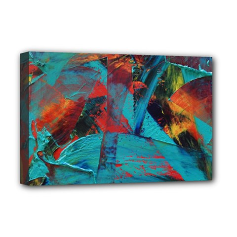 Magic Deluxe Canvas 18  X 12  (stretched)