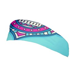 Blue Mandala Stretchable Headband
