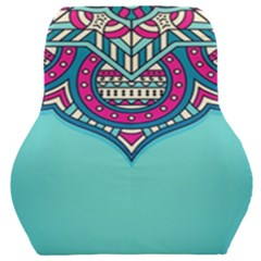 Blue Mandala Car Seat Back Cushion