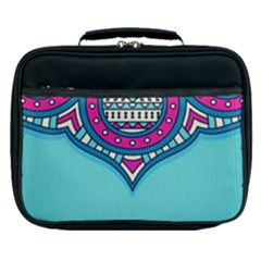 Blue Mandala Lunch Bag