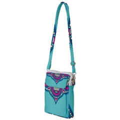 Blue Mandala Multi Function Travel Bag